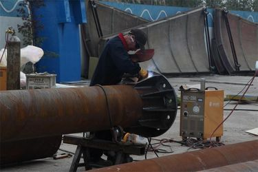 Steel Stand Column Welding
