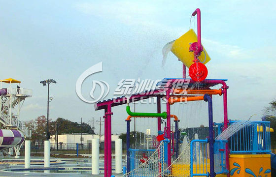 Custom Small Commercial Water Playground For Water Park