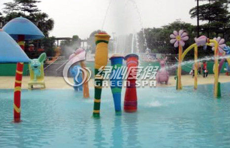 Commercial water park equipme Cartoon Spout Spray for