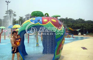 Family Members Water Fun Game Apple House for Giant Park Play Equipment