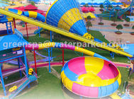 China Family Members Big Amusement Water Park Equipments Durable Customised Color factory