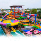 China Galvanized Pipe Water Park Equipment / Amusement Park Equipment Fiberglass company