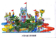 China Kids Water Park Equipment / Water Park Games For Swimming Pool Water Park factory
