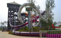 China Fiberglass Mini Slide Aqua Park Equipment For Amusement Park SGS Certificate company
