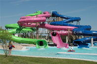 China Professional Water Park / Aqua Park Equipment Big Water Slides For Children factory