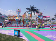 China Customized Size Aqua Park Custom Water Slides For Water Amusement Park Equipment company