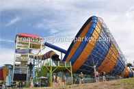 China Amusement Park Equipment Custom Water Slides Indoor Swimming Pool Water Slide factory