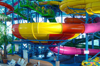 China Funny Water Playground Equipment Super Bowl Water Slide For 2 People Water Sport Games factory