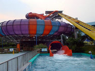 China Exciting Super Space Bowl Auqa Slide for Fiberglass Children Water Park Equipment factory