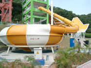 Customized Fiberglass Super Space Bowl Water Slide for Funny Amusement Park Equipment