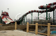 China Giant Boomerang Water Park Slides High Speed for Exciting Summer Entertainment Water Fun factory