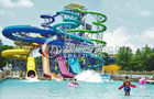 China Open Spiral Slide Water Park Equipment factory