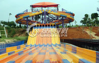 China Commercial Multi Lane Variable speed Racing Water Slide with Stainless Steel Screw company