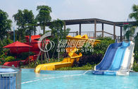 China Funny Kids Water Pool Slides Outdoor Spray Park Equipment for Aqua Games factory