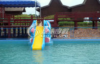 Elephant Fiberglass Swimming Pool Water Slide Aqua Play Equipment
