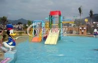Children Water Fun Play Kids Water Playground with skip bucket , water spray