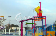 Custom Small Commercial Water Playground For Water Park Equipment / Water Pool Toys