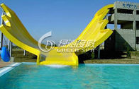 Commercial Large U Waving Water Slide / Surf n Slide Water Park for Adults and Kids