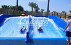 China Adults Skateboarding Surfing Simulator Fiberglass Water Slide for Summer Entertainment factory