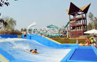 China Outdoor Commercial Surfing Water Slide for Children Funny Water Playground Equipment factory