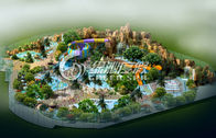 Indoor Children and Adults Water Park project Conceptual Design for Holiday Resort