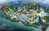 Funny Aqua / Water theme park project design for hotel or Holiday Resort