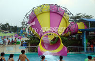 Thrilling Aqua Park Amusement Game Small Fiberglass Tornado Water Slide for Kids