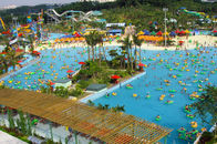 Kids and Adults Auqa Fun Water Park Wave Pool Equipment / Machine For Holiday Resort
