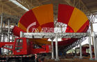 China Holiday Resort Water Park Construction , Family Water Fun Game Spray Park Equipment company