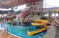 China Commercial Outdoor Water Park Construction Fiberglass Children Aqua Park Equipment factory
