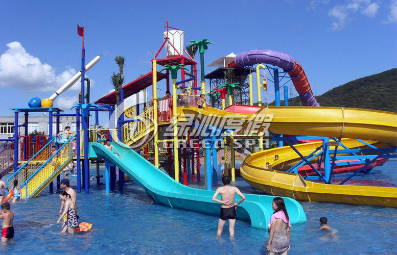 outdoor water games aqua playground big water house for