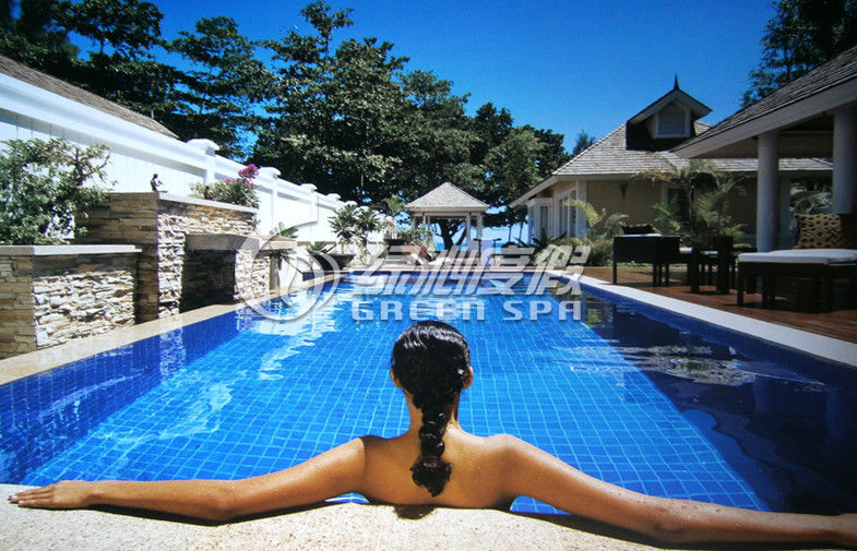 Large Swimming Pools Design Plans Pool Construction For Holiday Resort Or SPA