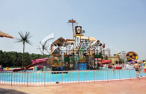 Seaside Holiday Resort Aqua Playground for Outdoor Water Park Play Equipment