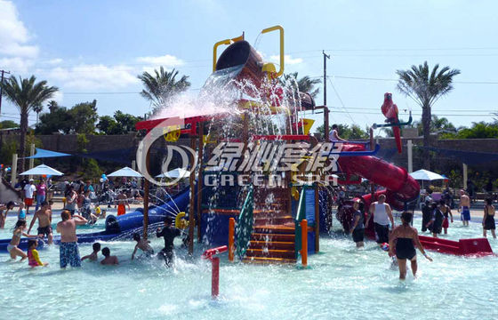 Amusement Park Equipment Spiral Fiberglass Water Slide for Summer Entertainment