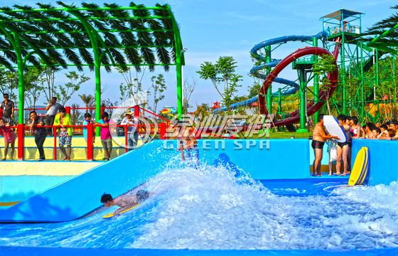 High Speed Fiberglass Surf n Slide Water Park for Outdoor Theme Park Play Equipment